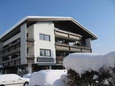 Gaestehaus Rottenspacher - Aussenansicht im Winter