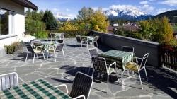 Hotel Gasthof Stern - Terasse mit Ausblick