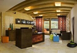 Hotel Salzburger Hof Leogang - Rezeption des Wellnessbereichs