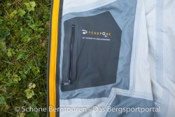 Jack Wolfskin Gravity Flow Texapore Jacket - Innentasche