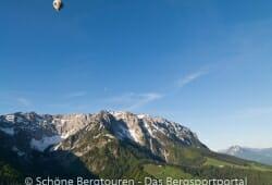 Heissluftballons am Zahmen Kaiser