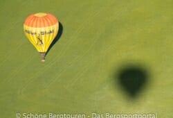 Ballon und sein Schatten