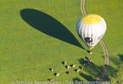 Ballon setzt auf