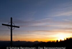 Gipfelkreuz des Wandbergs