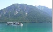 Blick von Pertisau auf Achensee und Rofangebirge
