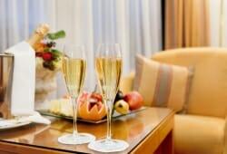Kongress Hotel Davos - Champagner