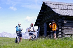 Lagacio Hotel Mountain Residence - Pause beim Mountainbiken