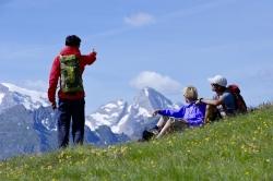 Lagacio Hotel Mountain Residence - Pause beim Wandern