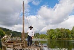 Limousin - Schiffer einer Gabare
