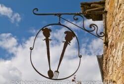 Limousin - Aussagekräftiges Werbesymbol in Turenn