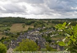 Limousin - Ausblick von der Burgruine Turenne