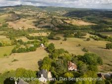 Limousin - Herrlicher Ausblick vom Burgturm