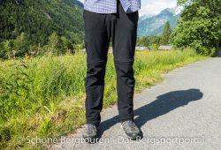 Maier Sports Tajo Zip-Off Wanderhose - Frontansicht