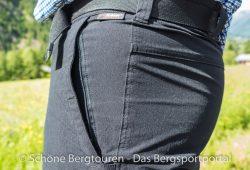 Maier Sports Tajo Zip-Off Wanderhose - Einschubtasche