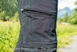 Maier Sports Tajo Zip-Off Wanderhose - Oberschenkeltasche