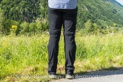 Maier Sports Tajo Zip-Off Wanderhose - Rueckansicht