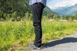 Maier Sports Tajo Zip-Off Wanderhose - Seitenansicht