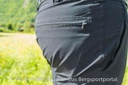 Maier Sports Tajo Zip-Off Wanderhose - Gesaesstasche