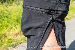 Maier Sports Tajo Zip-Off Wanderhose - T-foermig abzippbar