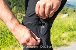 Maier Sports Tajo Zip-Off Wanderhose - Reissverschluesse