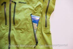 Marmot Alpinist Jacket - RV-Seitentasche
