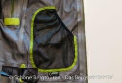 Marmot Alpinist Jacket - Linke Innentasche aus Mesh