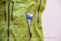 Marmot Alpinist Jacket - RV-Seitentasche
