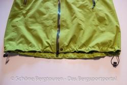 Marmot Alpinist Jacket - Saum mit Kordelzug