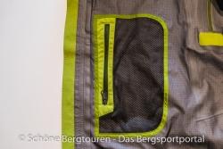 Marmot Alpinist Jacket - Rechte Innentasche aus Mesh