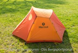 Marmot Astral FC 2P Zelt - seitliche Ansicht