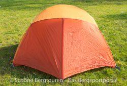 Marmot Astral FC 2P Zelt - Zeltseite mit kleiner Apsis