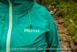 Marmot Starfire Jacket - Marmot Logo Brustbereich