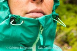 Marmot Starfire Jacket - Kinnbereich der Kaupze