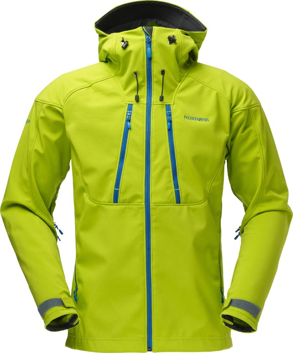 Norroena Trollveggen Flex 3 Jacket Men - Birch Green