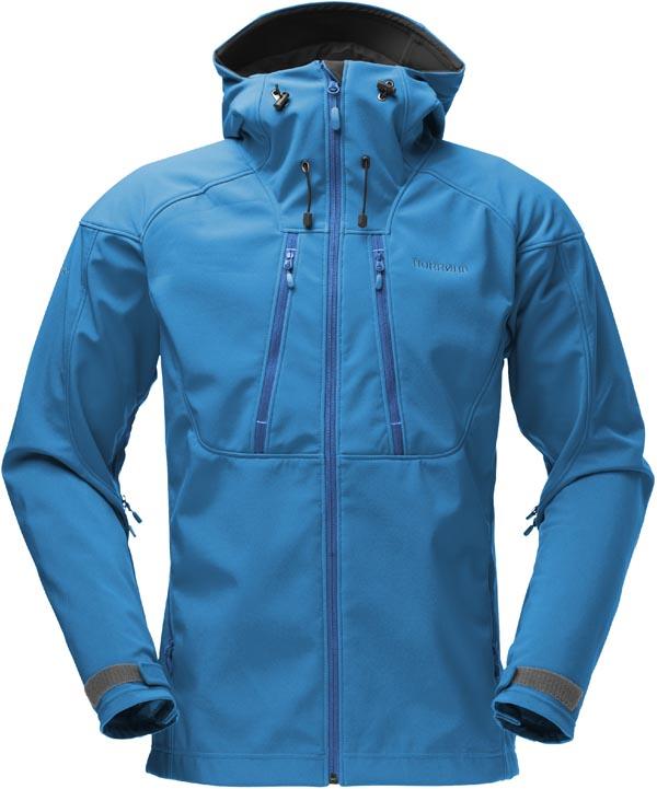 Norroena Trollveggen Flex 3 Jacket Men - Waterfall Blue
