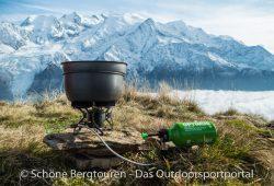 Optimus Terra HE Kochset - Mont Blanc Panorama