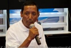 Apa Sherpa beim Talk