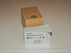 Pro Trek PRW-3000 - Holzbox und Booklet