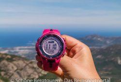 Pro Trek PRW-3000 - Korsika - Bocca di Bonassa