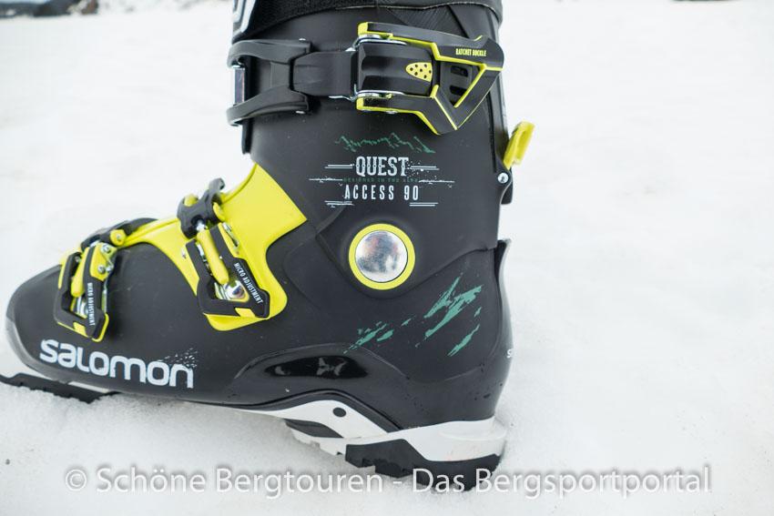 Testbericht – Salomon QST Access 90 Skischuhe – Praxistest ODMO8