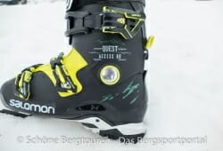 Salomon Quest Access 90 Skischuhe - 24 mm Oversized Pivot-Achse