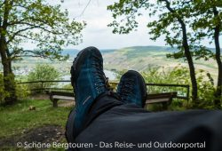 Scarpa Mojito Trail GTX Multifunktionsschuhe - Ueber der Mosel