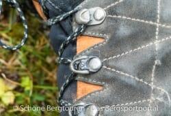 Scarpa R-Evo GTX Trekkingschuhe - Schnuerungssystem