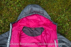 Sherpa Adventure Gear Annapurna Jacket - Innenansicht