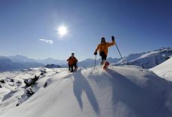 Aletsch Arena - Schneeschuhwandern