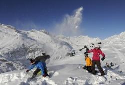 Aletsch Arena - Schneespass am Aletschgletscher