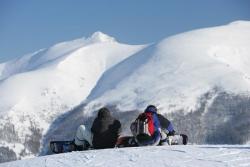 Bad Kleinkirchheim - St Oswald - Snowboarder