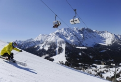 Carezza Ski - Skifahrer