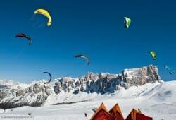 Cortina d Ampezzo - Snowkite