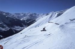 Fuegen - Spieljoch - Snowboarder